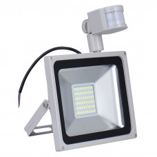 100W LED PIR Motion Sensor Floodlight Cool White Outdoor Security Lamp IP65