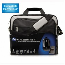 HP Travel Essentials & mouse Bundle Kit for 15.6 - 16