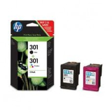 HP 301 Combo Pack Cartridges