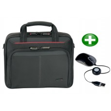 Targus 15 - 16 Inch Laptop Case &  USB mouse kit