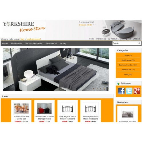Yorkshire home store
